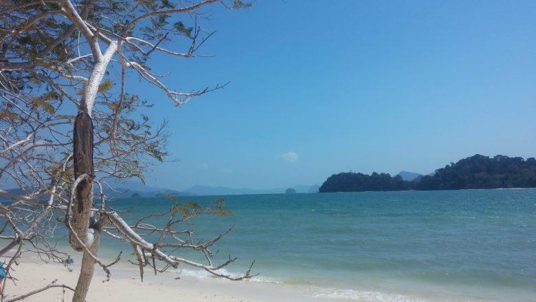Na jednej z wysp archipelagu Langkawi