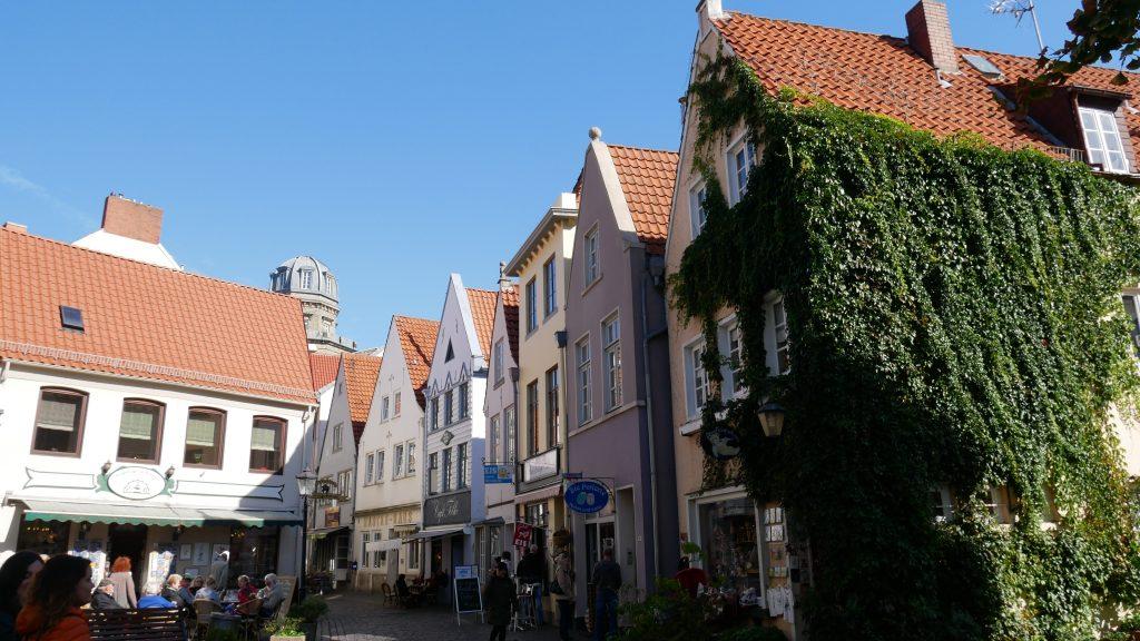 Centrum Bremy - okolica Schnoor