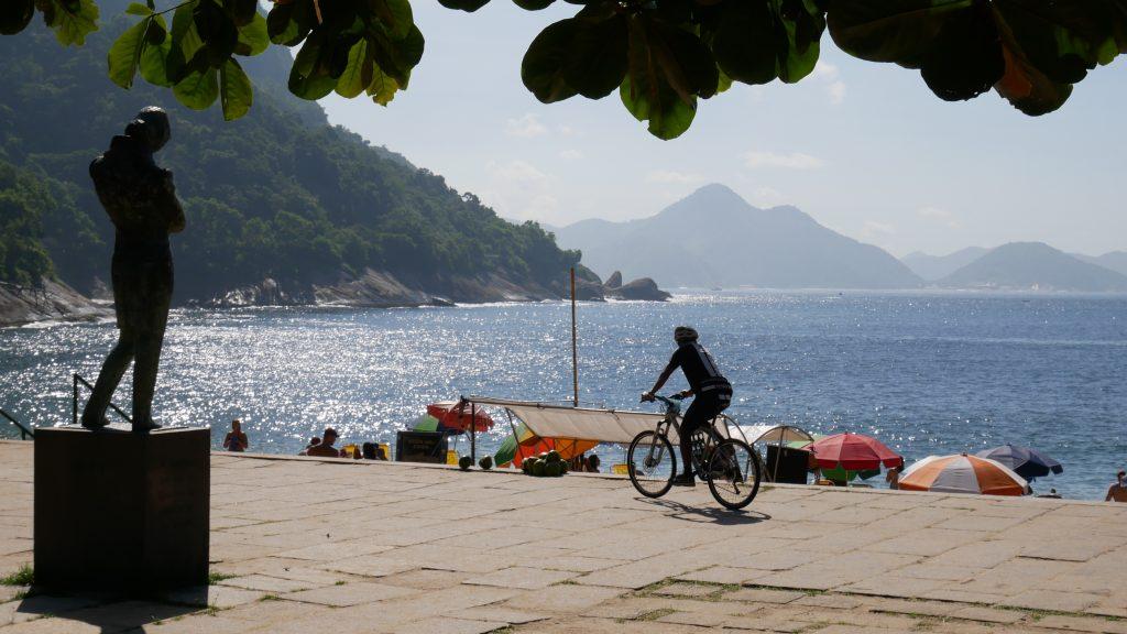 Pomnik Chopina przy Praia Vermelha w Rio