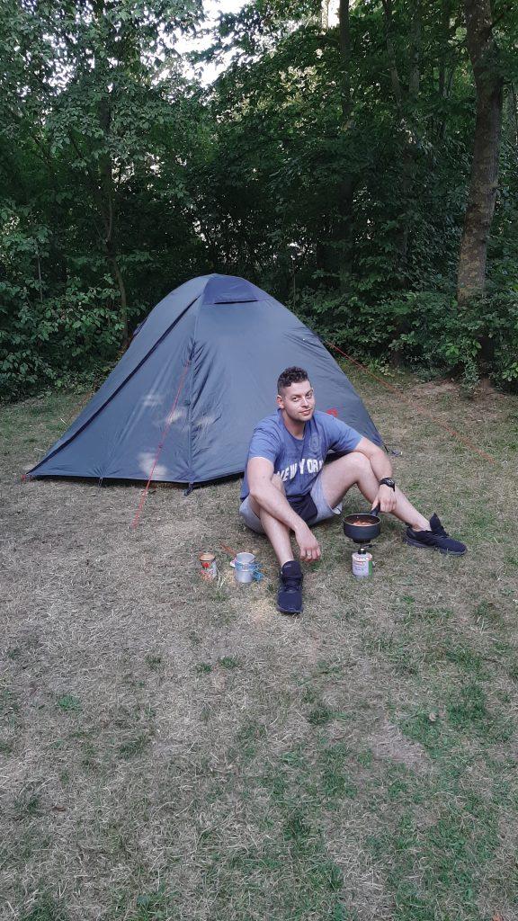 Z namiotem przez Benelux - kamping
