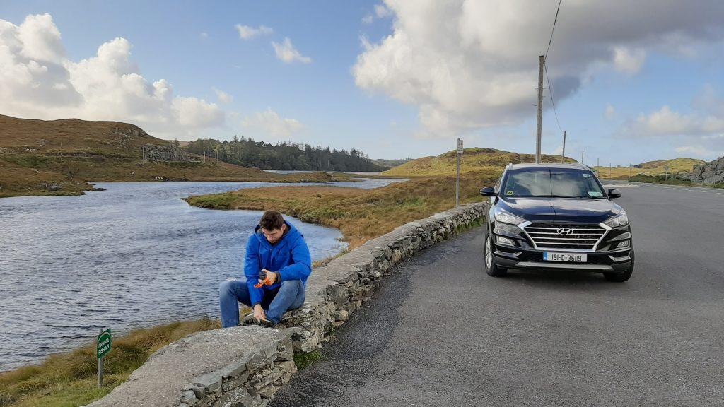 Podróż autem przez Irlandię