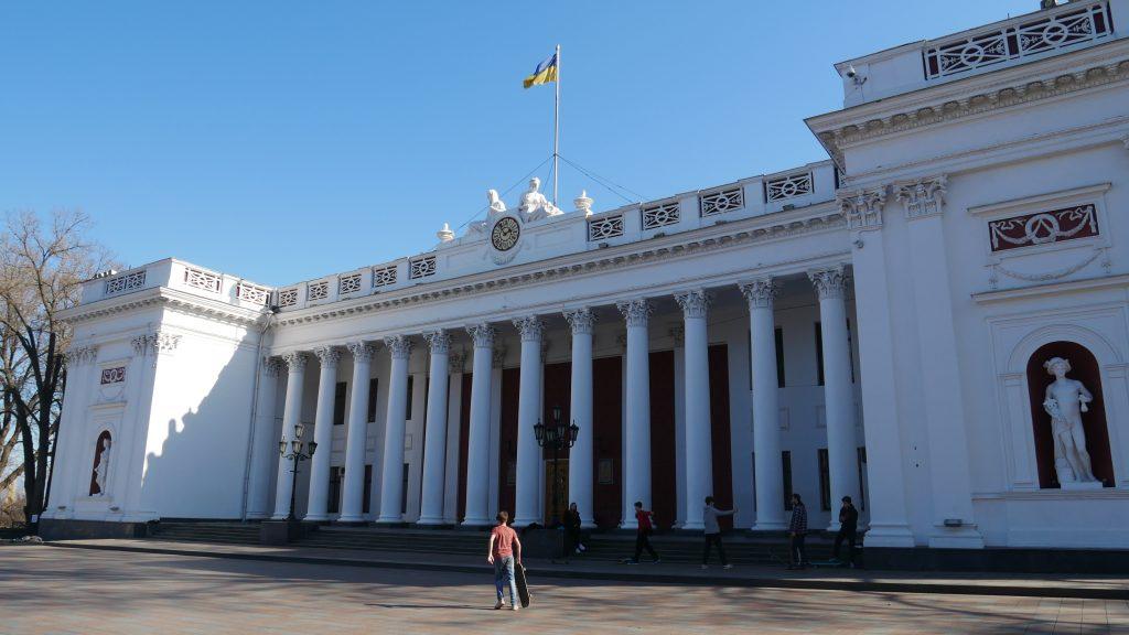 Ratusz w Odessie
