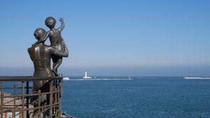 Pomnik żony marynarza w Odessie