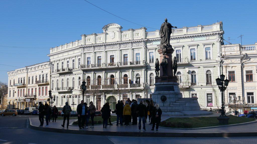 Plac Katarzyny w Odessie