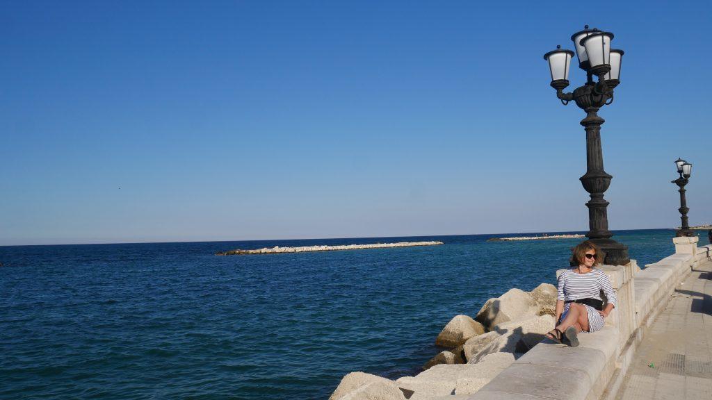 Promenada nadmorska w Bari