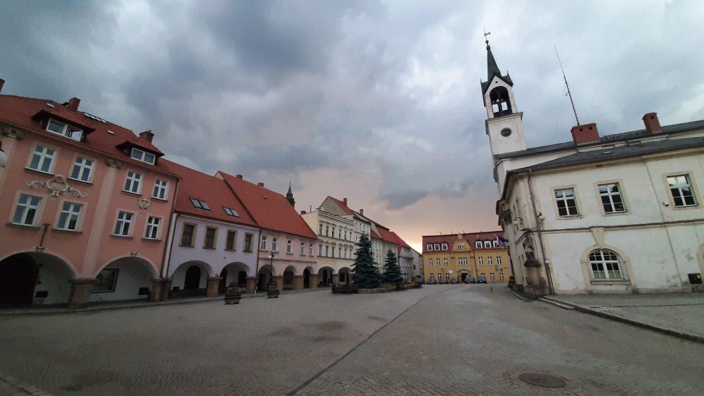 Rynek w Lubawce